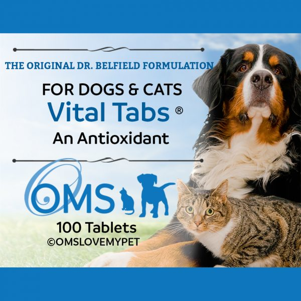 VitalTabs for dogs and cats